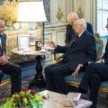 ITALIA-LIBIA: NAPOLITANO INCONTRA PRESIDENTE CONGRESSO NAZIONALE AL-MGARIEF
