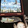 American Bald Eagle Knife Franklin Mint