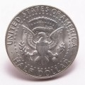 kennedy silver half dollar tail