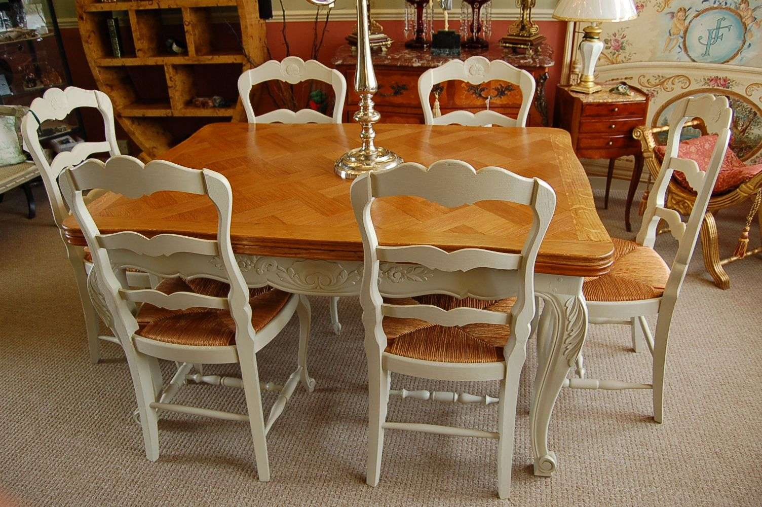 Antique French Dining Tables   Globerove