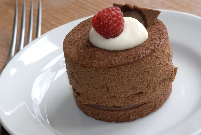 Belgian chocolate cake