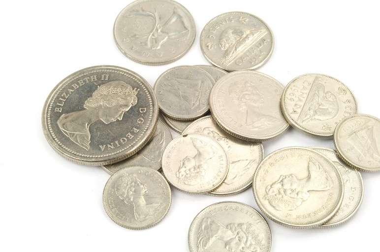 Kanadische Münzen