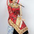 China Doll Head, Dress  & Shoes