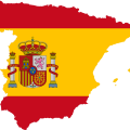 Colors on the Spanish Flag