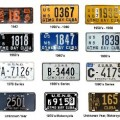 Cuban License Plates