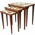 Danish Modern Nest Stacking Tables