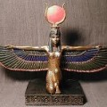 Egyptian Eagle Statues