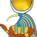 Egyptian God Thoth