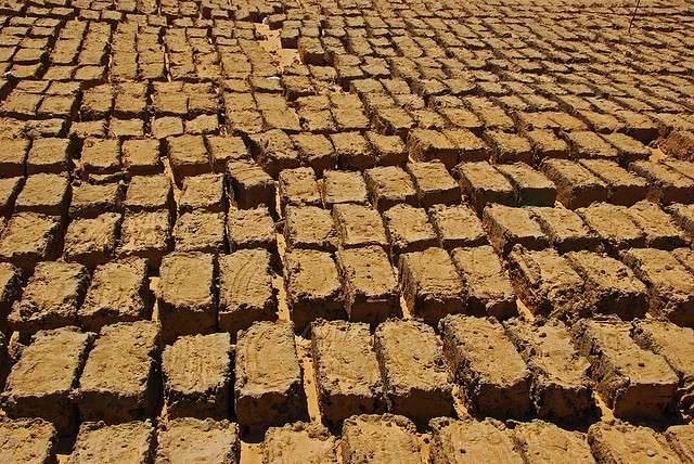 Ancient Egyptian Mud Brick House Bricks Egyptian Mud