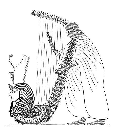Harpist Egype - b