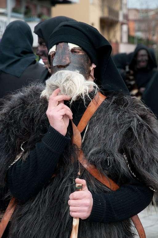 Sardinia, Italy: traditional carnival masks