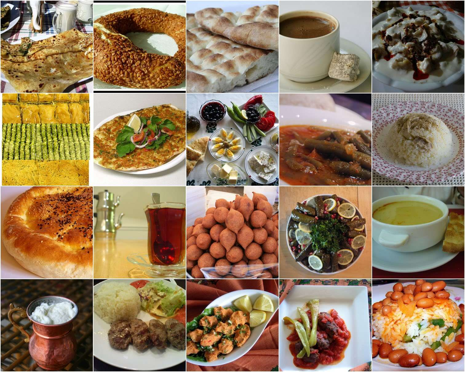 Food in Turkey