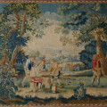 French Antique Tapestry