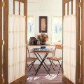 French Door Treatments
