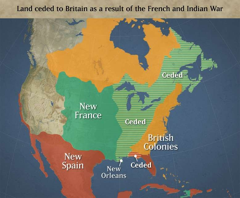 French Indian war effects