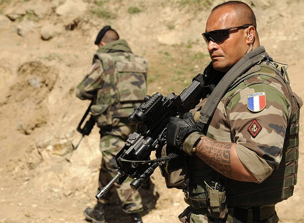 French foreign legion training