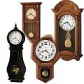 German Pendulum Wall Clocks