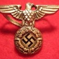 German WWII Eagle Cap Insignia