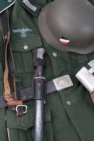 german army field equipment