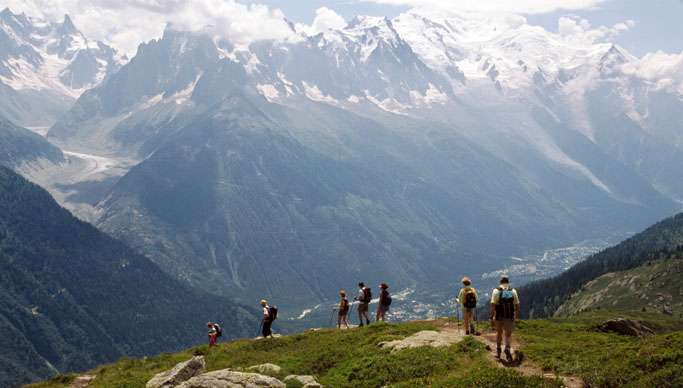 Hiking Routes in French Alps