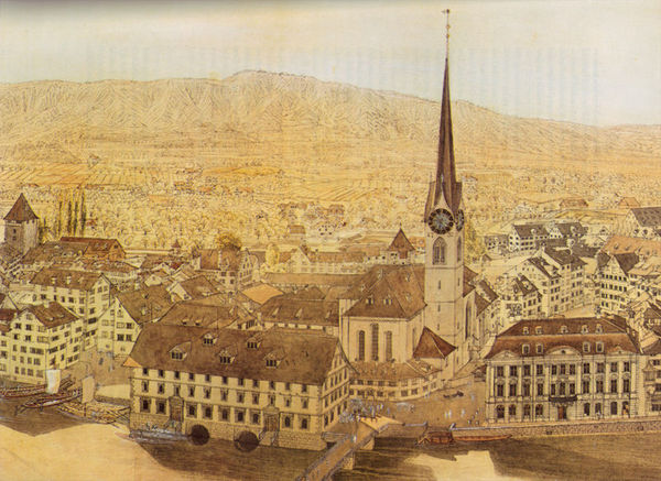 Historical timeline of switzerland