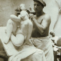 French sculptor Victor Nicolas