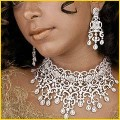 Indian Diamond Necklaces Designs