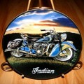 Indian Motorcycle Franklin Mint Plates