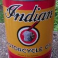 Indian Motorcycle Oil Can