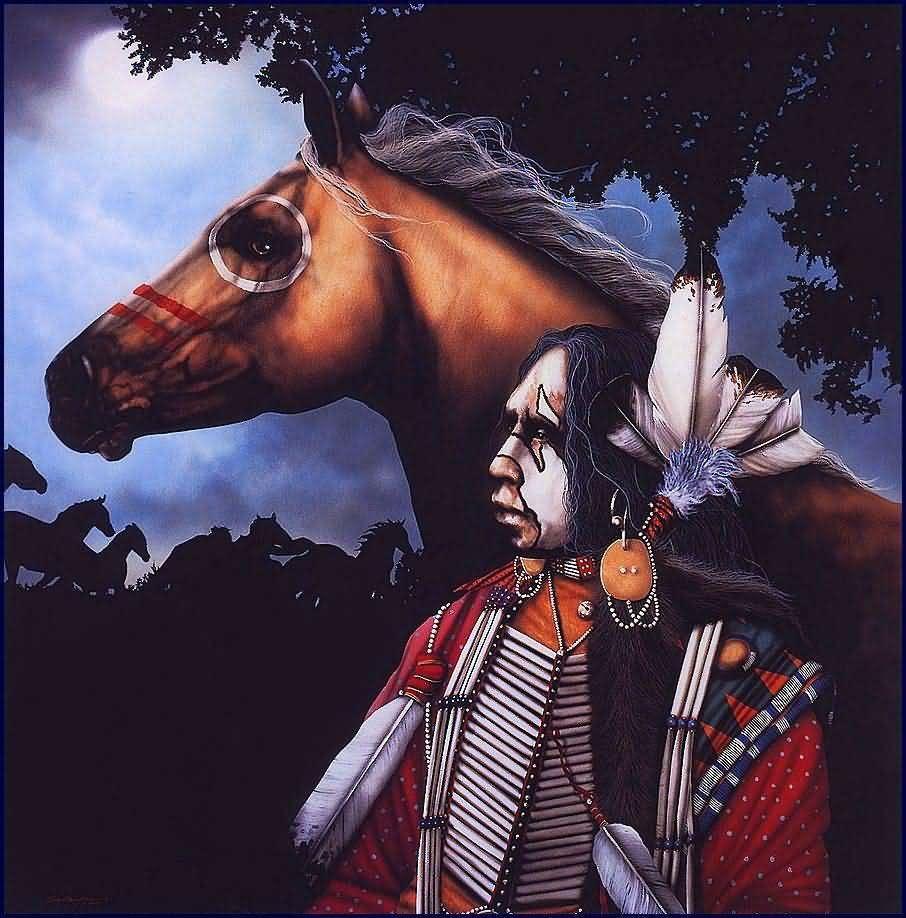 Indian Spirit Horse