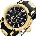 Invicta Russian Diver Black Chronograph