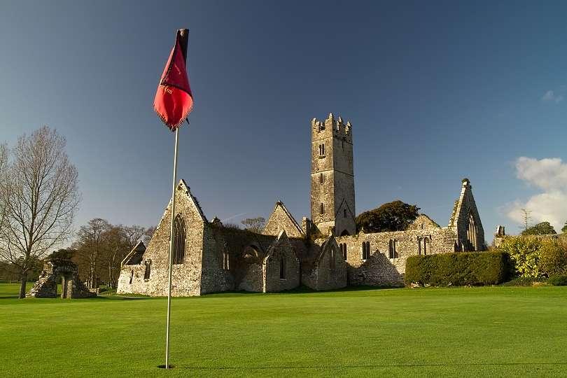 Abbey in Adare golf club - Ireland