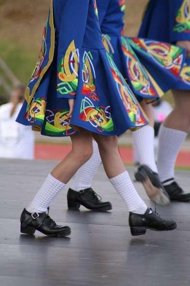 irish dancing girls