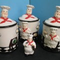 Italian Chef Canisters