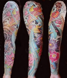 Japanese Sleeves Tattoos