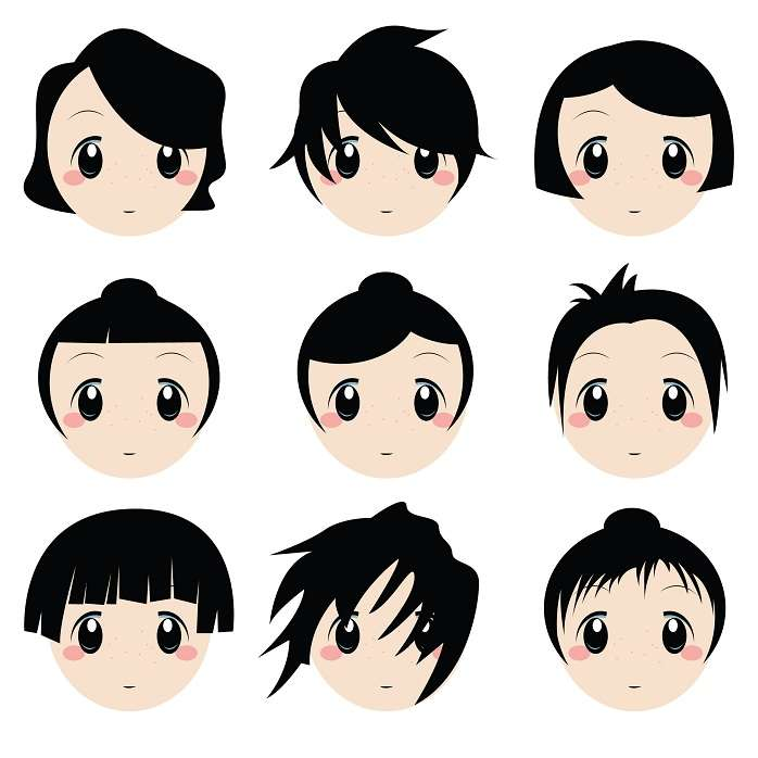 Japanese hairstyles japanese hairstyles for girls japanese anime