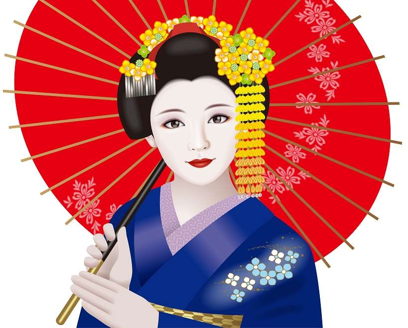 japanese geisha art