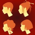 Japanese teen hairstyles