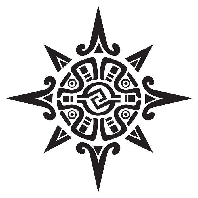 Meaning Aztec Tattoo Patterns Best Tattoo Ideas