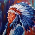 Native American Indians Sioux