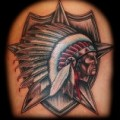 Native American Tattoo Art