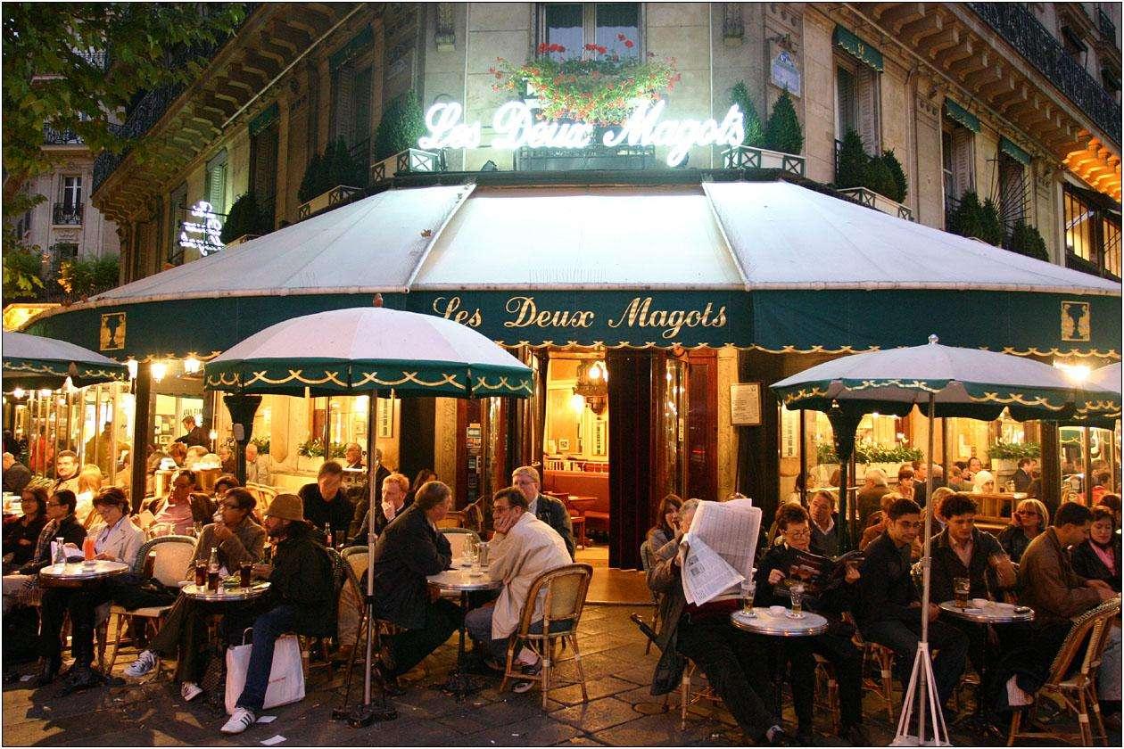 Night Time Outdoor Cafe Paris | Globerove: globerove.com/france/night-time-outdoor-cafe-paris/2533