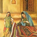 Paintings of Indian Mothers
