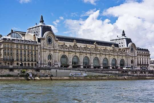 D'Orsay Museum (former Gare Orsay) is a museum in Paris, Franc