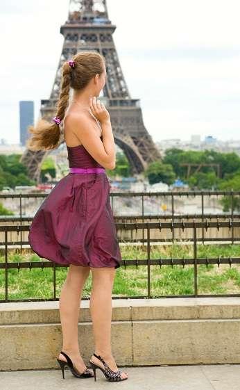 Parisian party dress