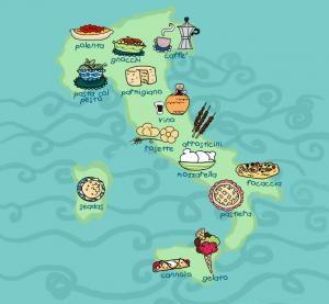 Regional Food in Italy