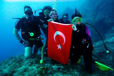 Scuba Diving in Turkey