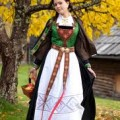 Swedish National Folk Dress