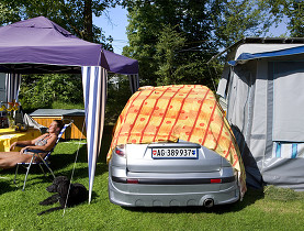 Swiss Camping guide Campsites in Switzerland