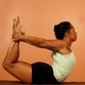 yoga pose thailand